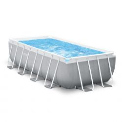 Intex Prism Frame Rectangular Pool Set_15890
